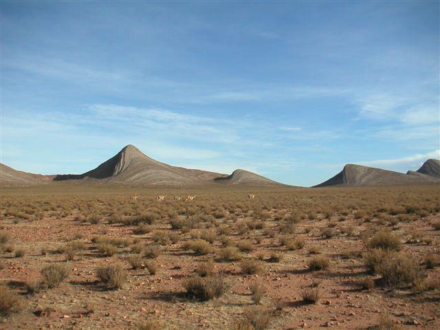 8 hermanos bergen bij Yavi, grens Bolivia