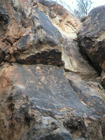 rotsschilderingen bij Yavi