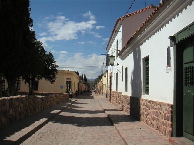 straatbeeld Humuhuaca