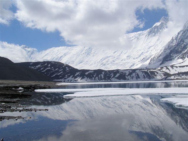 Tilicho lake, annapurna region