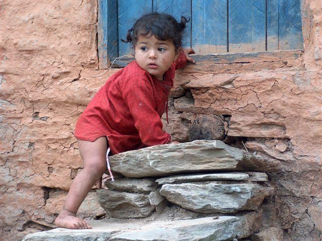 Nepali girl Pokhara