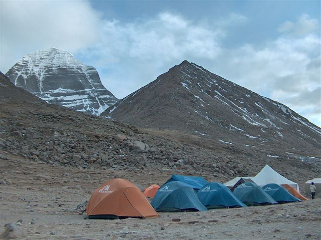 Mount Kailash - North face